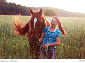 Die Beziehung zu einem Pferd kann etwas ganz besonderes werden und das Leben verändern.