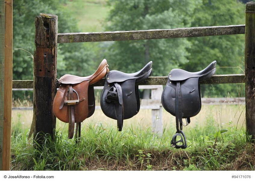 Jeder Sattel muss zu Reiter und Pferd passen!