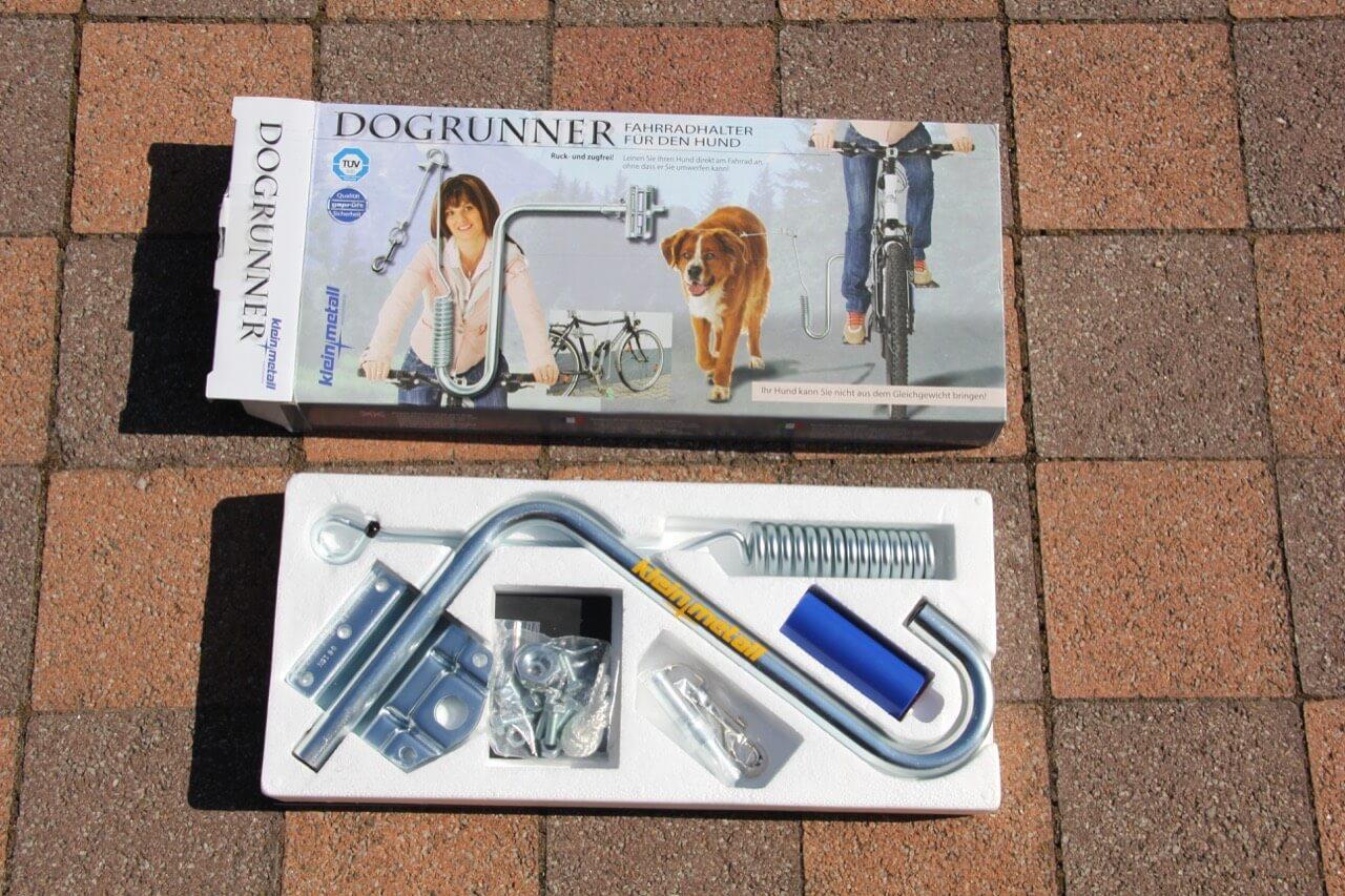 Verpackung Hunde Fahrrad Abstandshalter