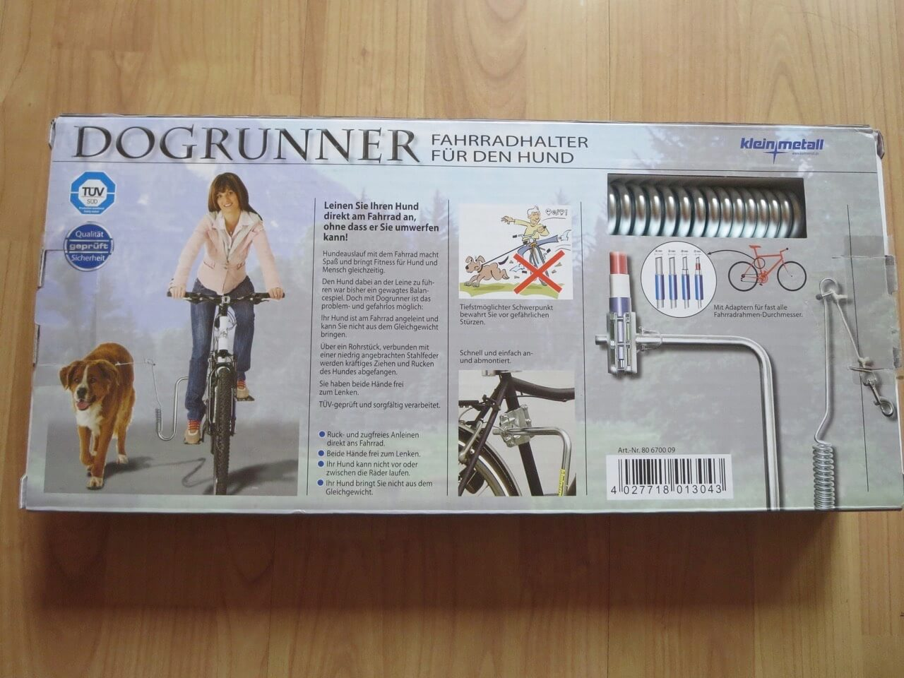 Verpackung Dogrunner