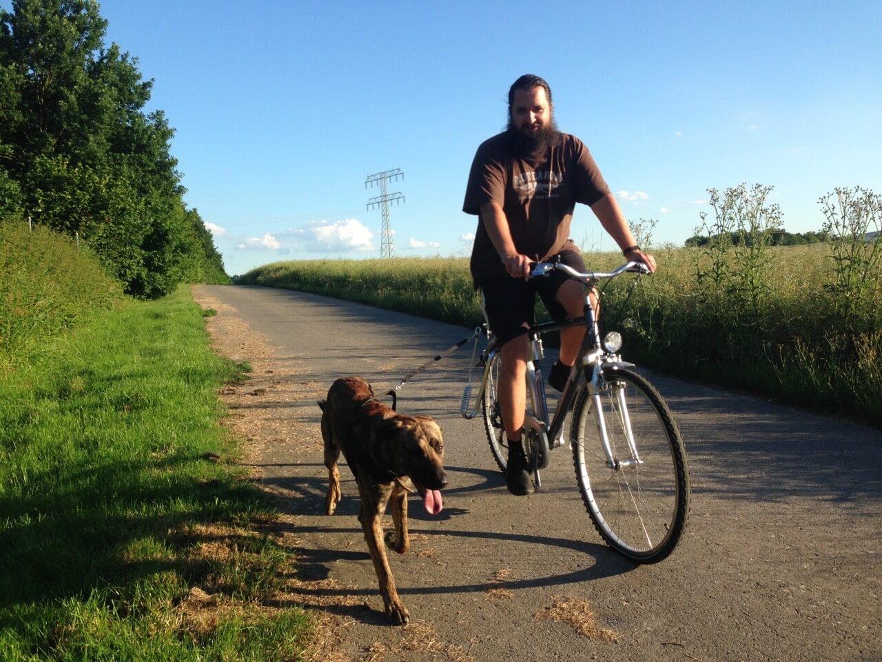 Unterwegs mit dem Dogrunner Abstandhalter