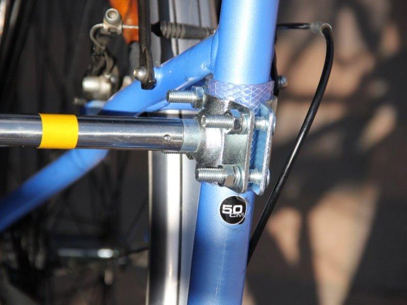 Montage Trixie Bike Set 9: Fest eingerasteter Abstandhalter
