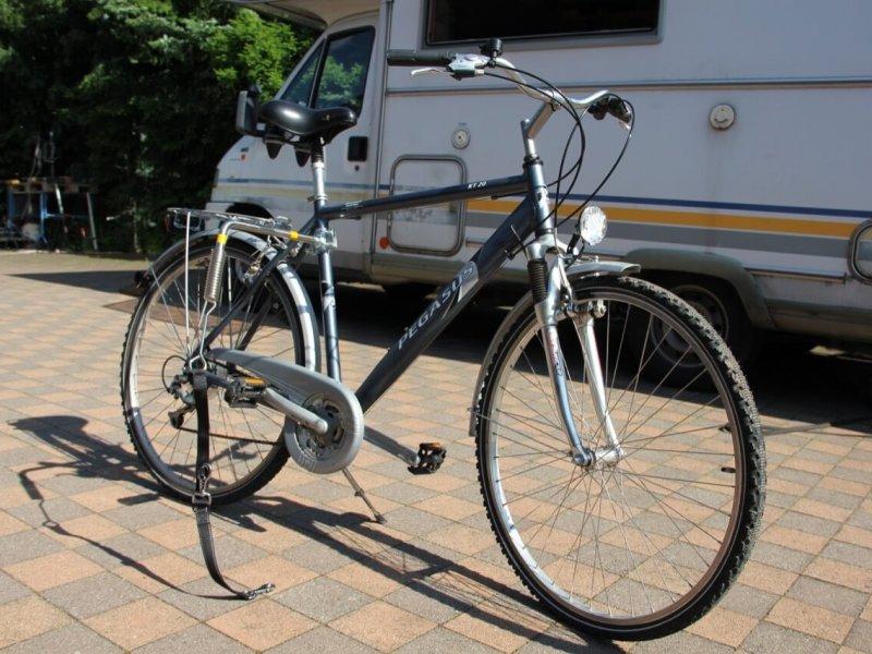 Montage Trixie Bike Set 16: bereit zur Abfahrt.