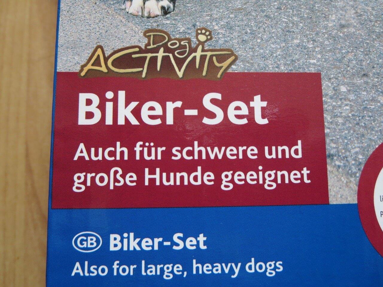 Trixie Bike Set Test für große Hunde