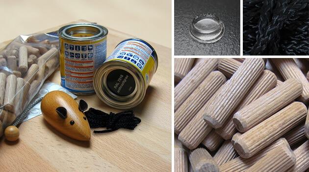 Das Material für die Bauanleitung zum Katzenfummelbrett bekommst du in jedem Baumarkt