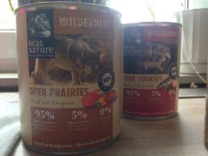 """Dose Getreidefreies Nassfutter """"Open Prairies"""" von Wilderness"""