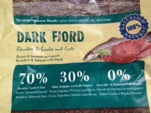 """getreidefreies Trockenfutter """"Dark Fjord"""""""